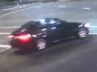 The vehicle captured on CCTV footage