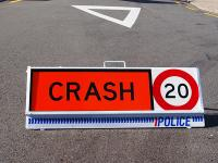 Crash sign