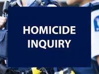 Media release - homicide inquiry