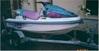 1996 Yamaha Waveventure. White hull and