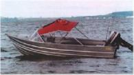 Fyran 1986 14ft alloy runabout