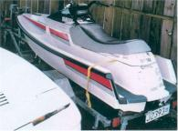 1990 Yamaha Waverunner 650cc White with