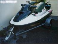 1996 Seadoo GTX. 800cc. Green and white.