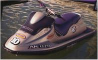 1997 Seadoo SPX 800. Black hull with wor