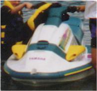 1996 Yamaha Wave Raider. White hull and