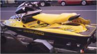1998 SeaDoo Bombardier XP Ltd. Black hul