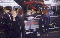 1992 Marco 4.9 metre. Aluminium hull.