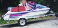 1996 Yamaha Wave Venture. 1100 cc. 3 sea