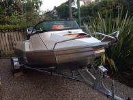 Stabi Craft 1410 Fisher White with 40Hp Yamaha